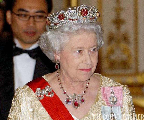 burmese ruby tiara