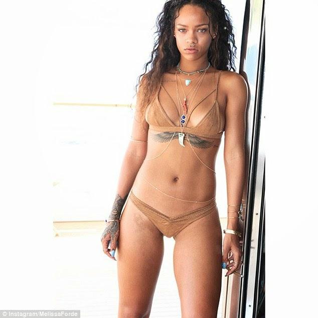 Rihanna In Bikini Pics 22