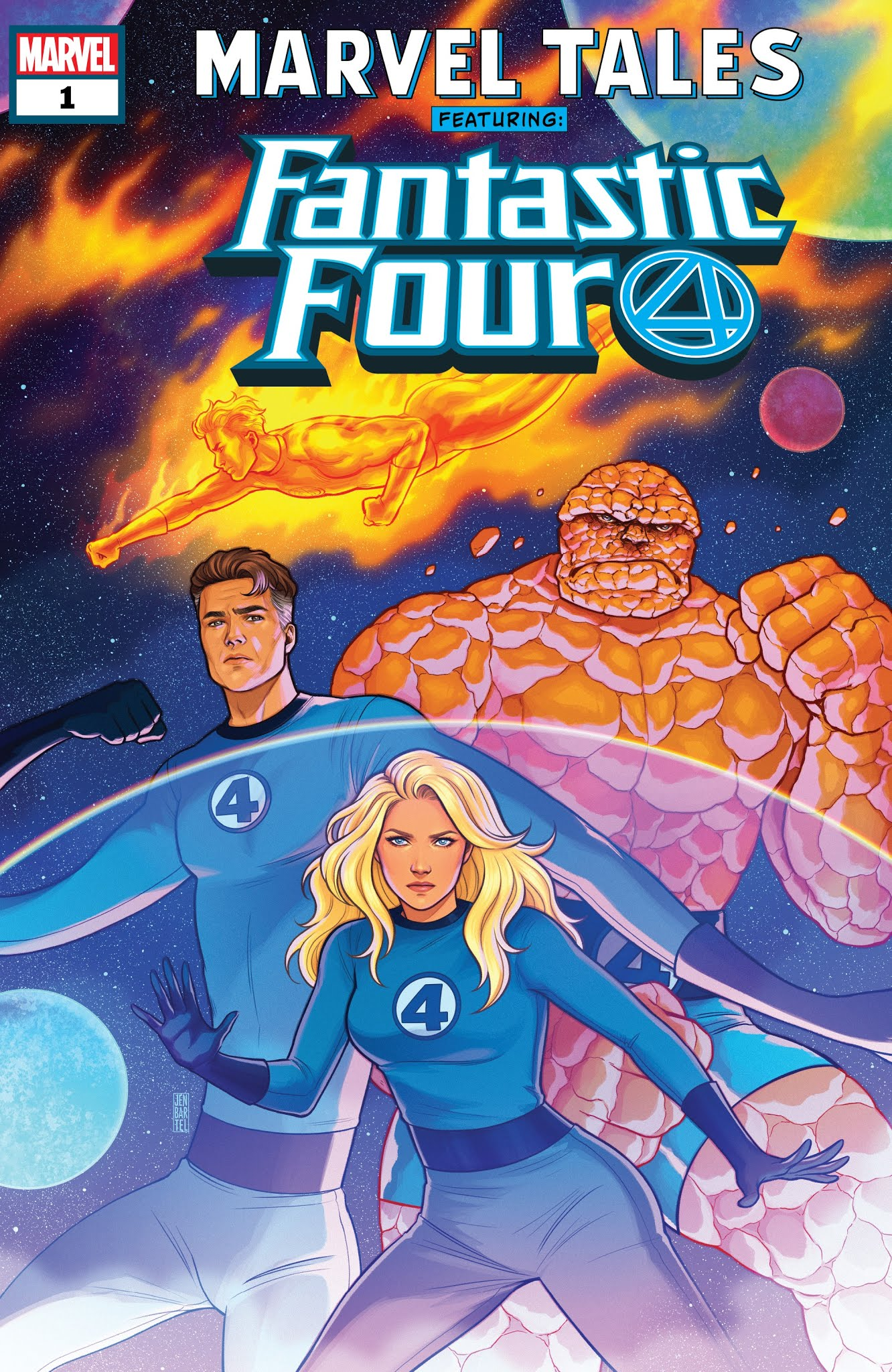 Marvel Tales: Fantastic Four TPB Page 1