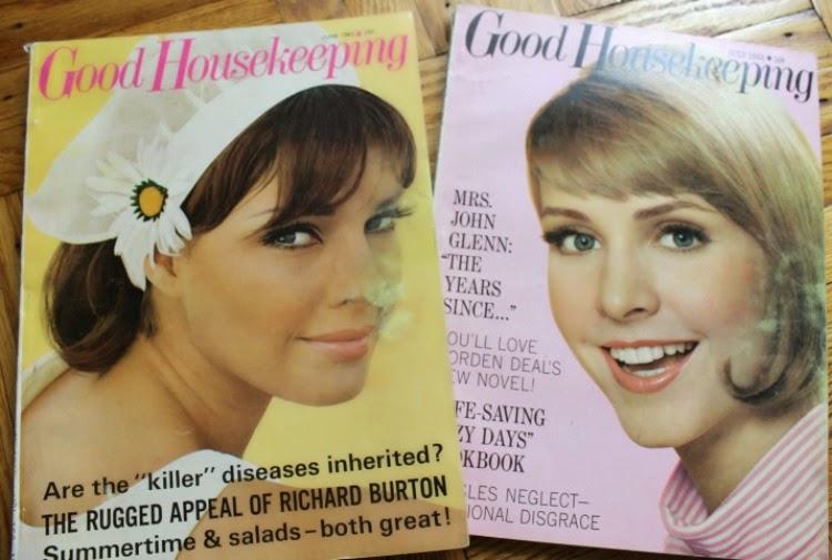 A Vintage Nerd, 1960s Magazines, Vintage Good Housekeeping Magazine, Vintage Blog, 1960s Blog