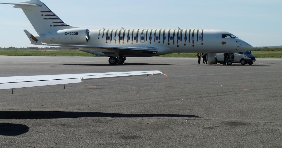 l 39 aviation le r ve d 39 une vie visite du jet priv de guy lalibert. Black Bedroom Furniture Sets. Home Design Ideas