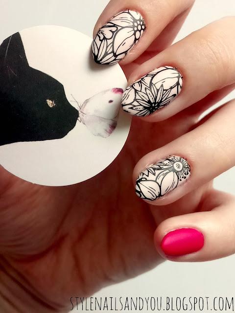 Fuchsia Pink | Born Pretty Nail Water Decals | Born Pretty Store Review