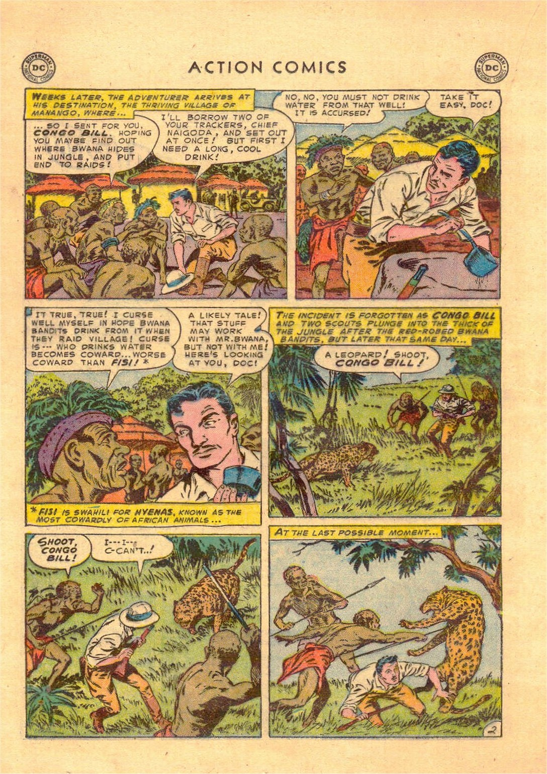 Read online Action Comics (1938) comic -  Issue #181 - 17