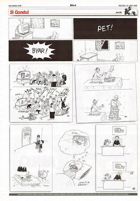 Si Gundul EDISI NO. 810 / SELASA, 23 JUNI 1998