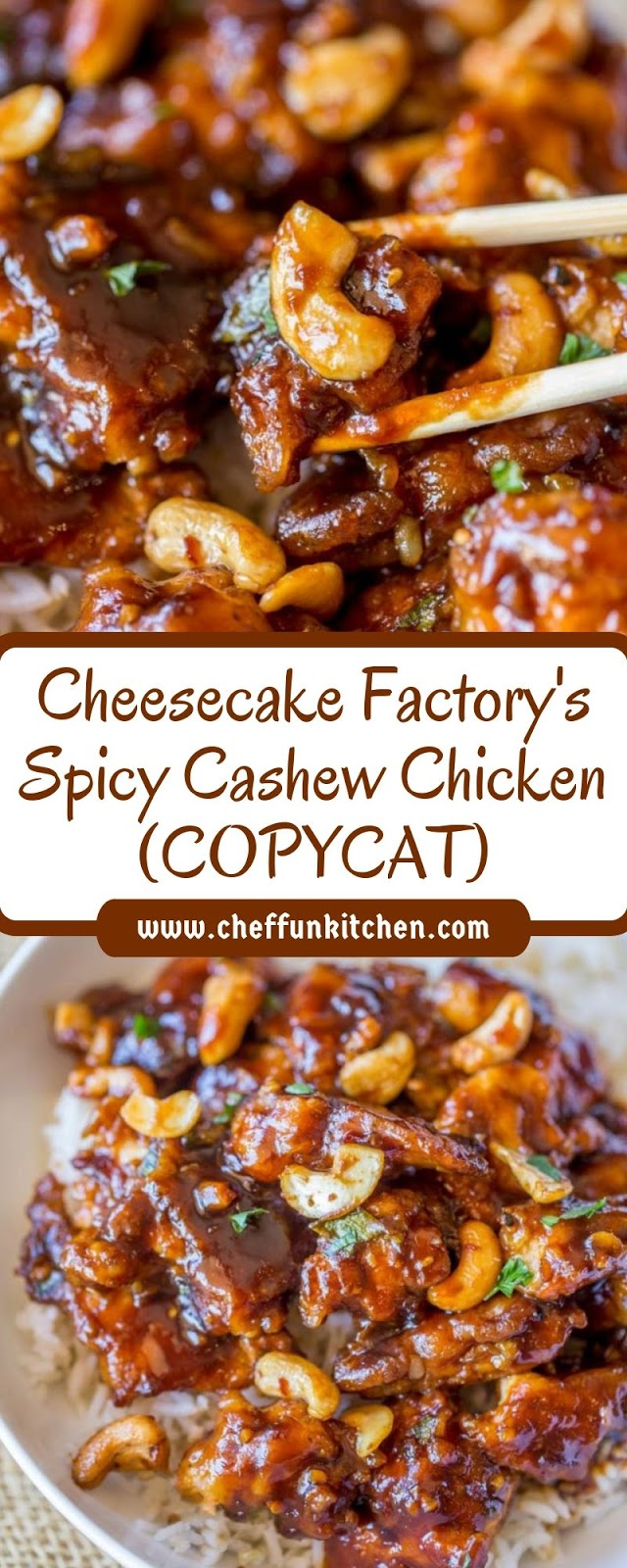 Cheesecake Factory's Spicy Cashew Chicken (COPYCAT)