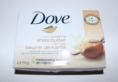 Dove Purely Pampering Shea Butter Beauty Bar with Warm Vanilla Scent