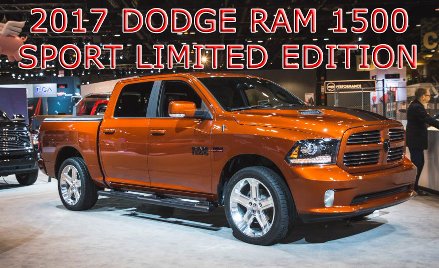 2017 dodge ram 1500 cooper sport limited edition for sale automotive news. Black Bedroom Furniture Sets. Home Design Ideas