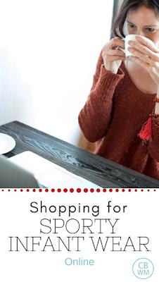 Shopping for Sporty Infant Wear Online