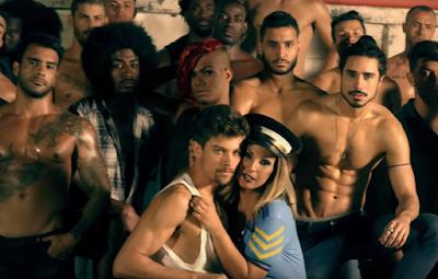 "Fotografia do videoclipe ""Viado"" da cantora Valesca Popozuda"