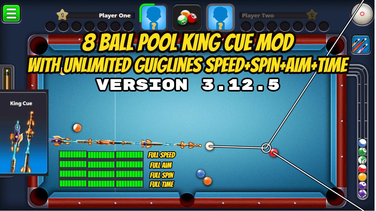 mod apk 8 ball pool 3.12.4