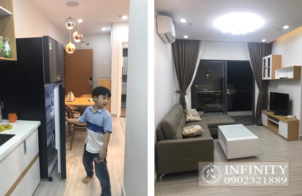 Cho thuê căn hộ Everrich Infinity Quận 5 tầng cao full nội thất - hình 7