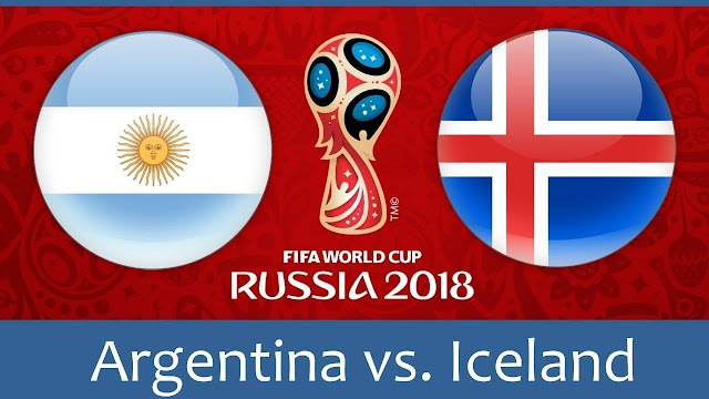 Argentina vs Iceland Full Match Replay 16 June 2018