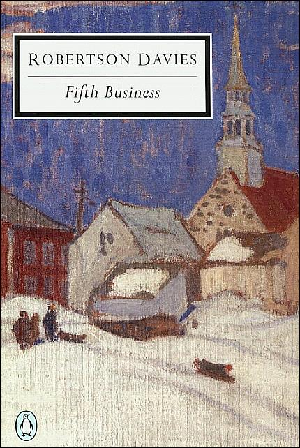 an analysis of the fifth business a novel by robertson davies Welcome to the litcharts study guide on robertson davies's fifth business  in  many ways the novel constitutes an examination of the psychological and.