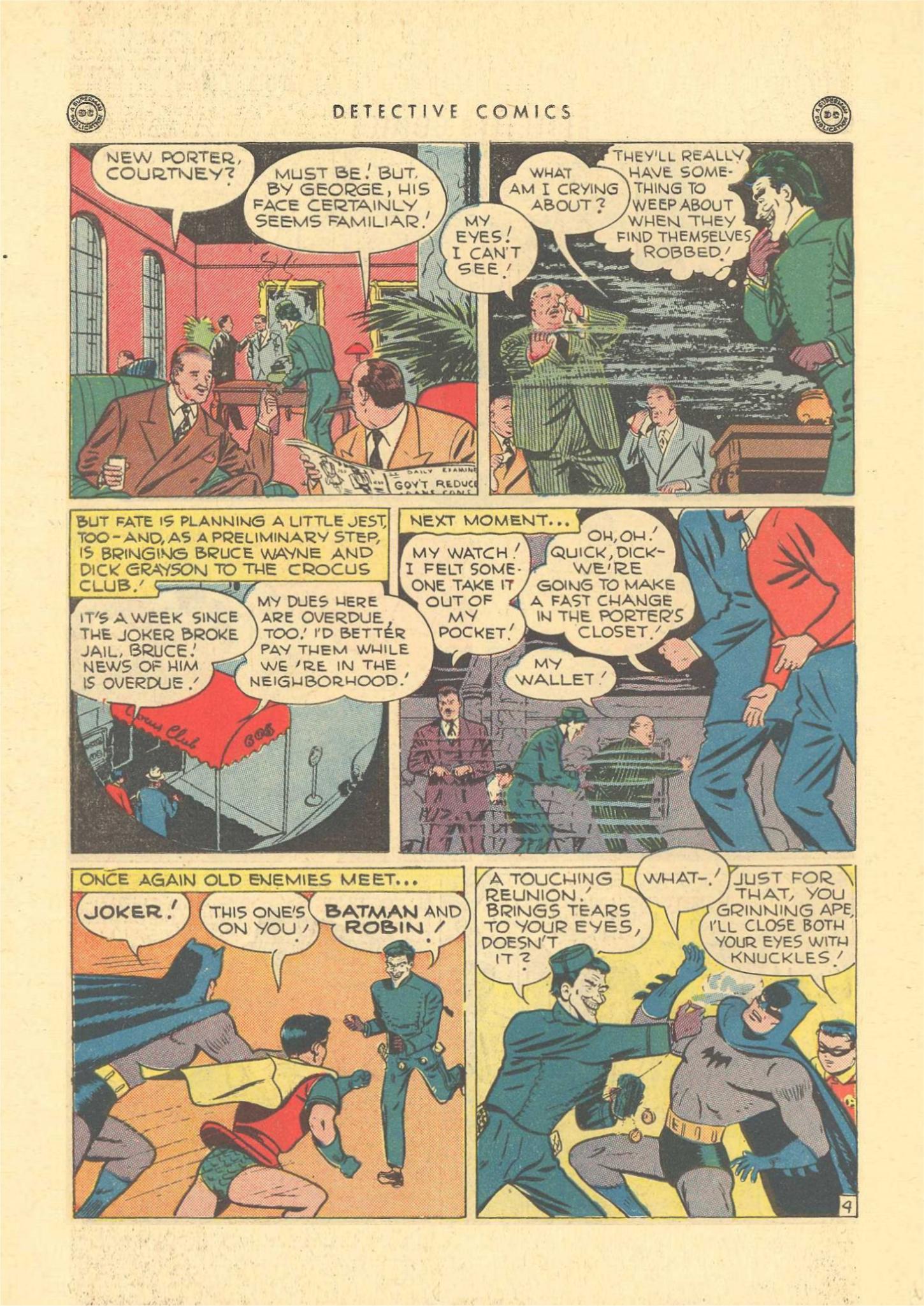 Read online Detective Comics (1937) comic -  Issue #109 - 6
