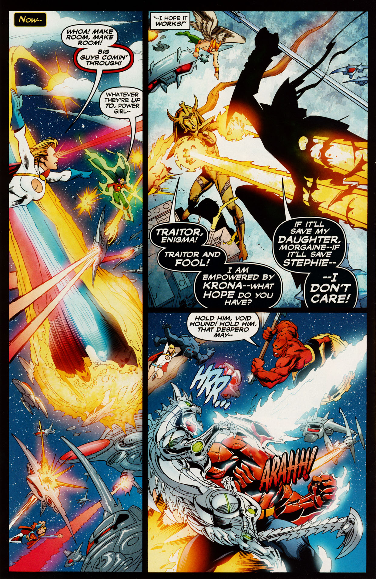 Read online Trinity (2008) comic -  Issue #48 - 4