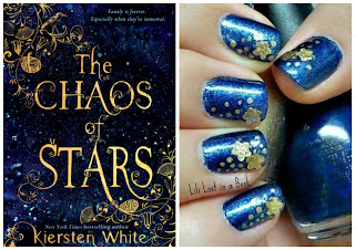 Literary Nails: The Chaos of Stars by Kiersten White