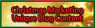 Free Christmas Marketing Tips and Tricks Blog Content