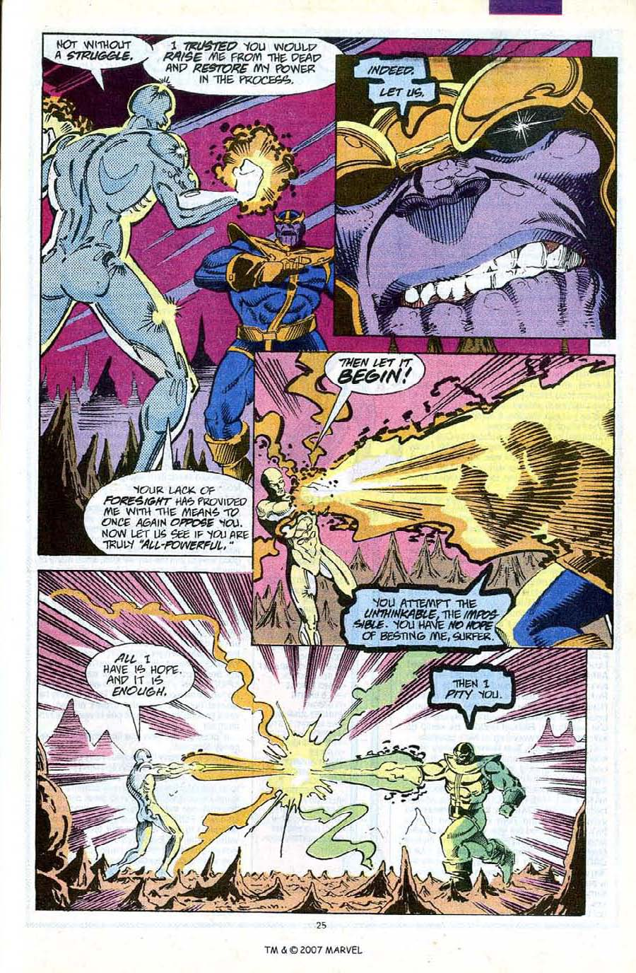 Read online Silver Surfer (1987) comic -  Issue #56 - 27
