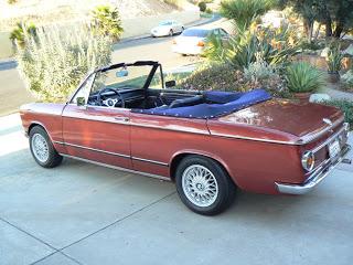 Small Baur World 1969 Bmw 2002 Baur Voll Cabrio On Ebay California
