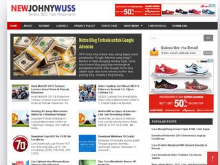 Template Blog SEO Friendly New Johny Wuss Update - Free Download
