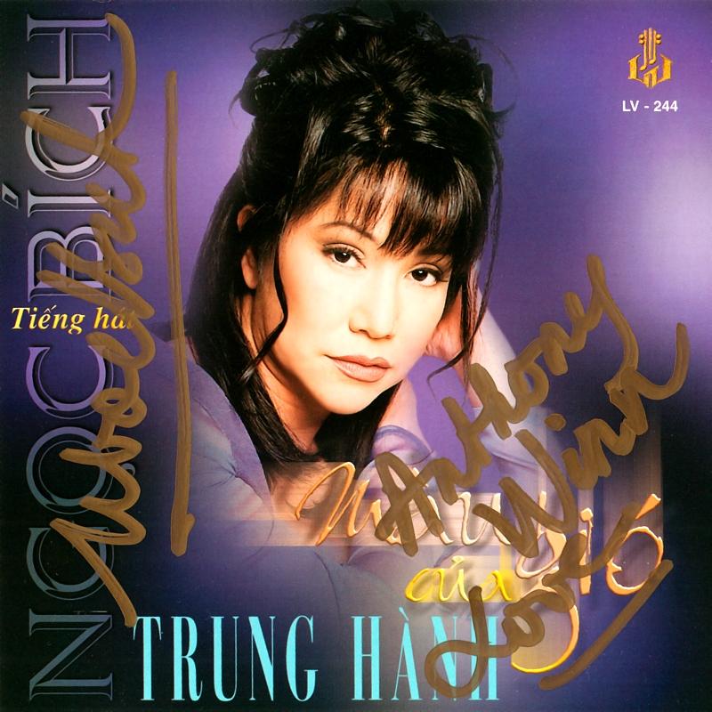 Làng Văn CD244 - Ngọc Bích, Trung Hành - Màu Của Gió (NRG) + bìa scan mới