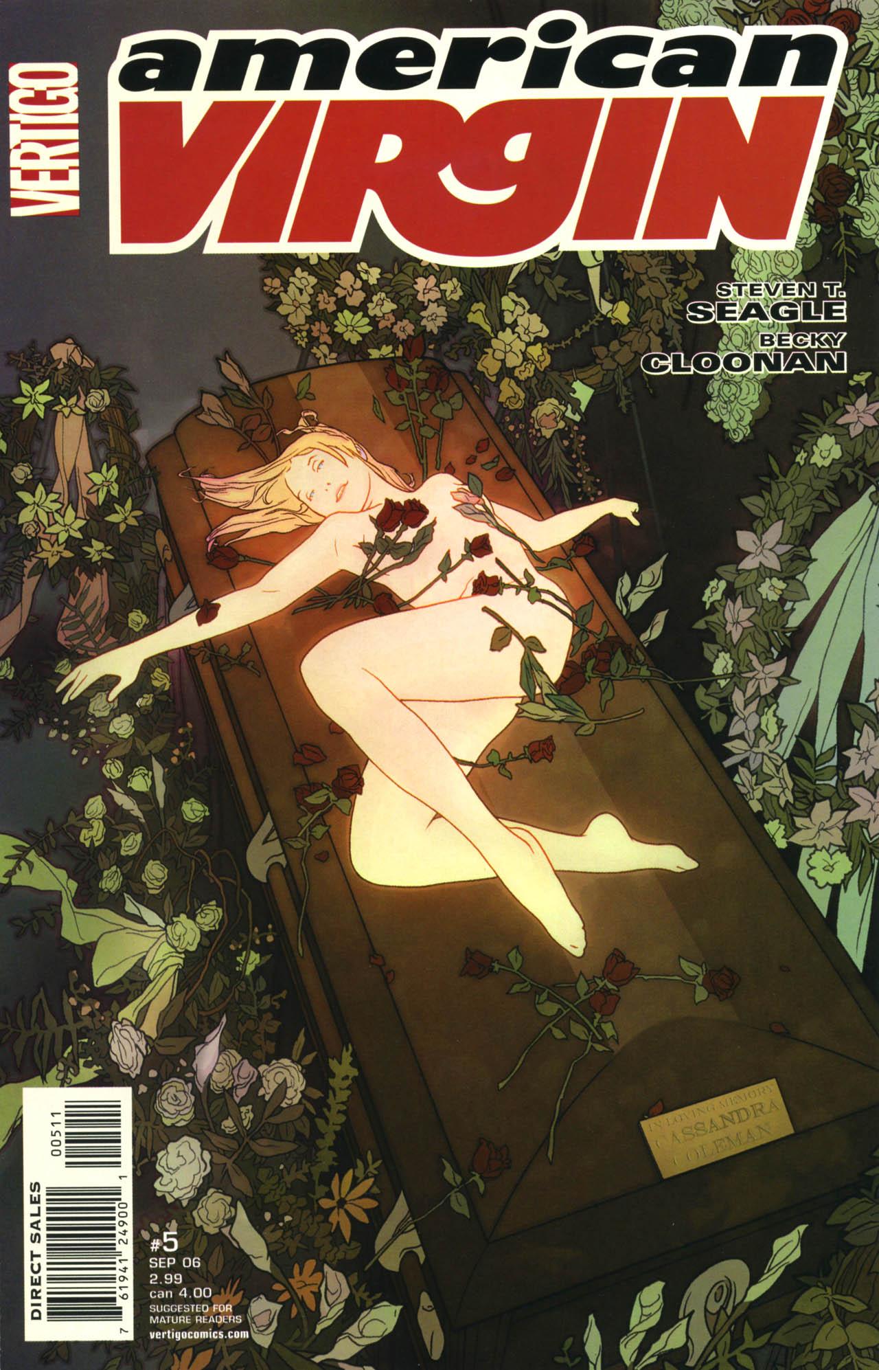 Read online American Virgin comic -  Issue #5 - 1