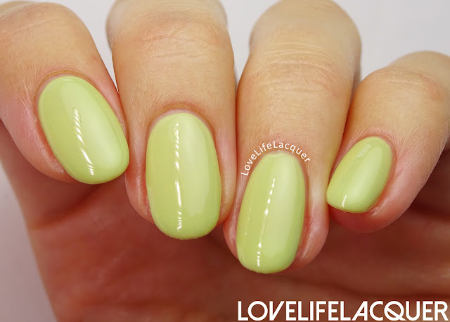 Pink Gellac Blossom Collection Gorgeous Green