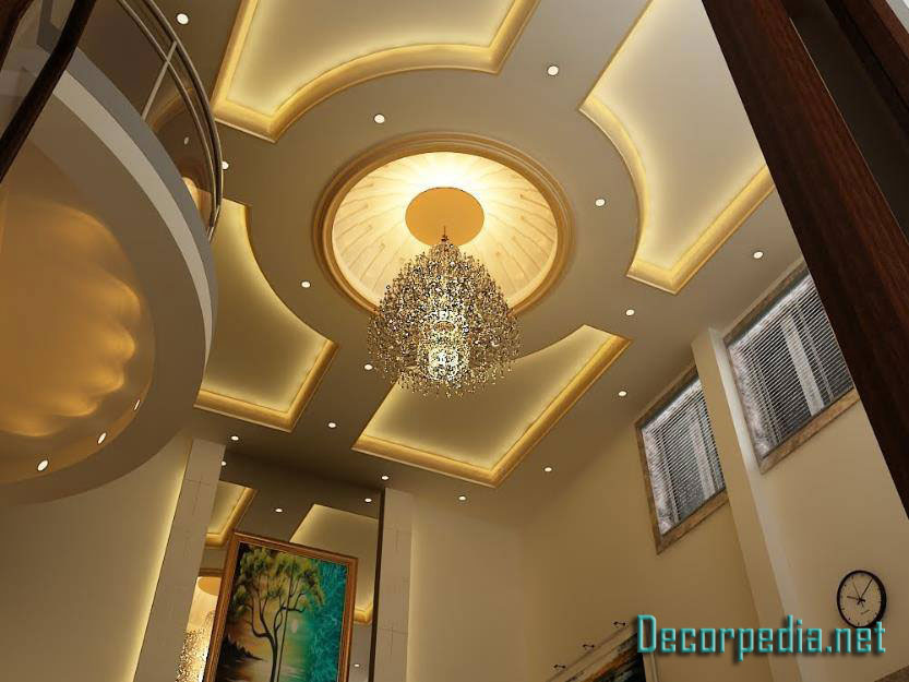47 Beautiful Photos Of Design Decisions Glamorous Pop False | Pop Design For Stairs Roof | Attractive | Stylish | Pop Boundary | Popular | Creative