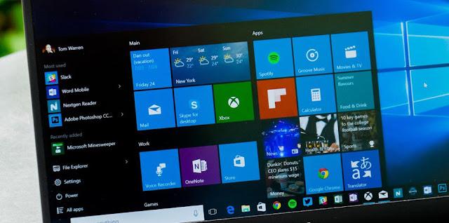 Saran spesikasi untuk menginstall Windows 10