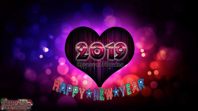 Happy New Year 2019 Ultra HD Love Wallpapers Download Free