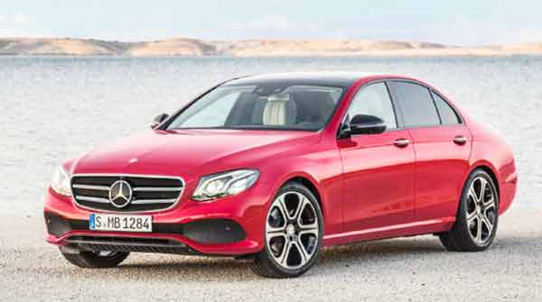 Mercedes-Benz E220d Comfort and Sport, with Diesel Engine