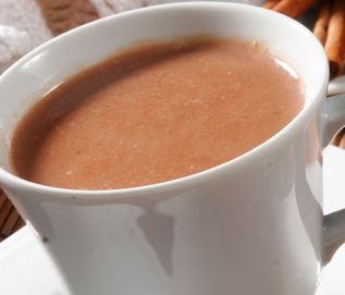 Imagem do chocolate quente simples de preparo