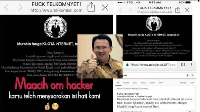 Netizen Kompak Akan Meng Ahokkan Hacker Telkomsel, Begini Caranya