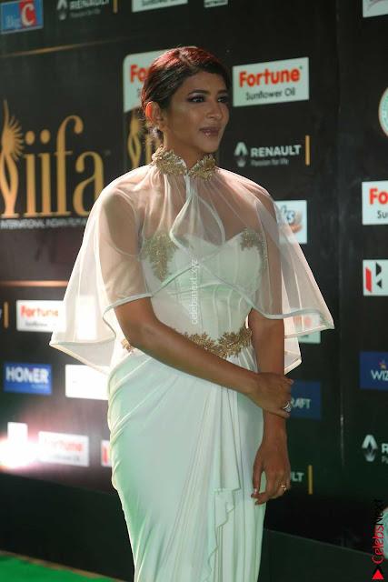 Lakshmi Prasanna in Transparent Saree Spicy Sleeveless Choli at IIFA Utsavam Awards 2017  Day 2  Exclusive 01.JPG