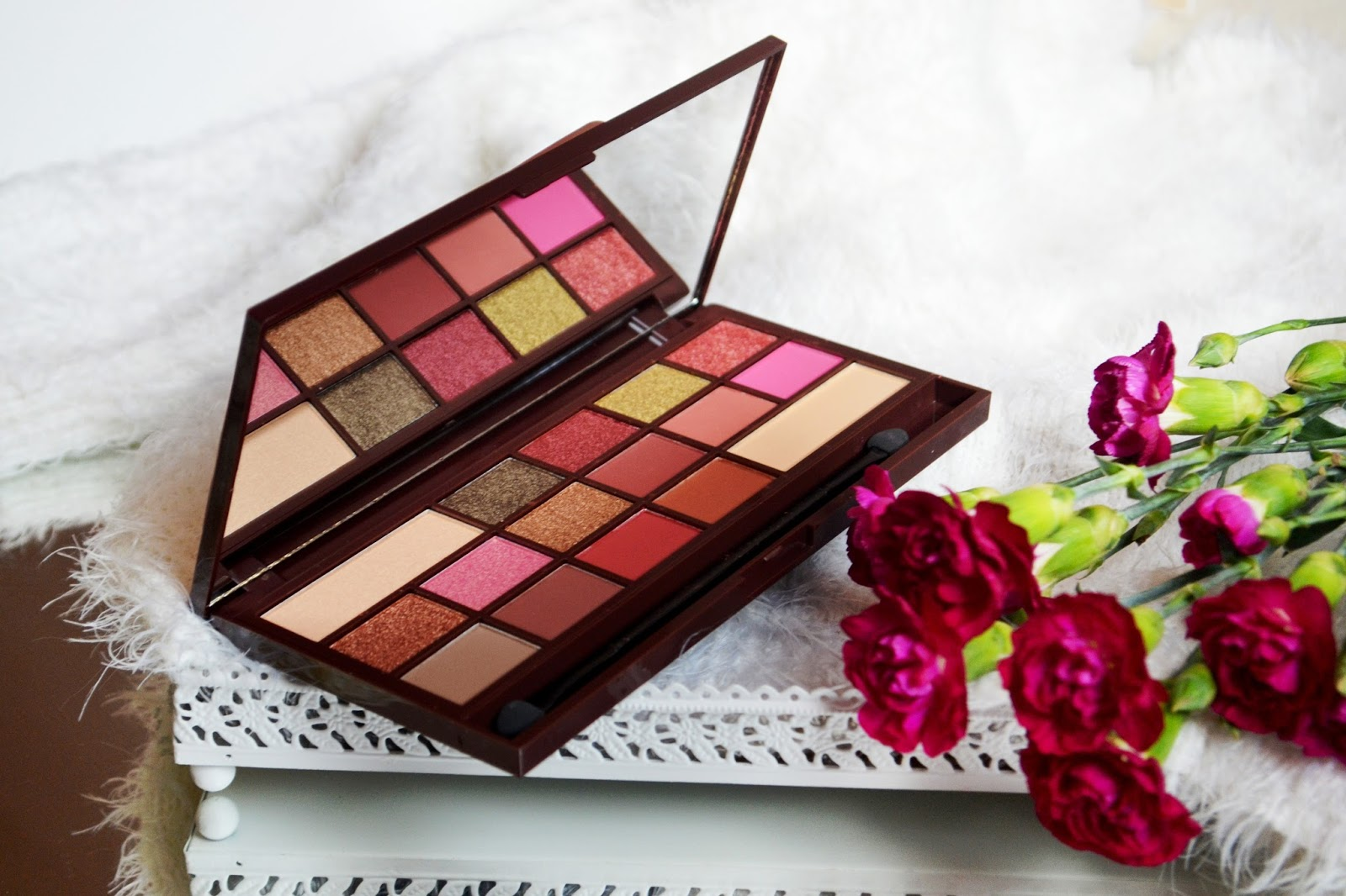 Makeup revolution rose gold recenzja