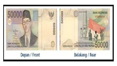 Istilah-istilah dalam Uang Kertas Rupiah Indonesia