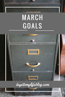 March Goals | Keys to My Life