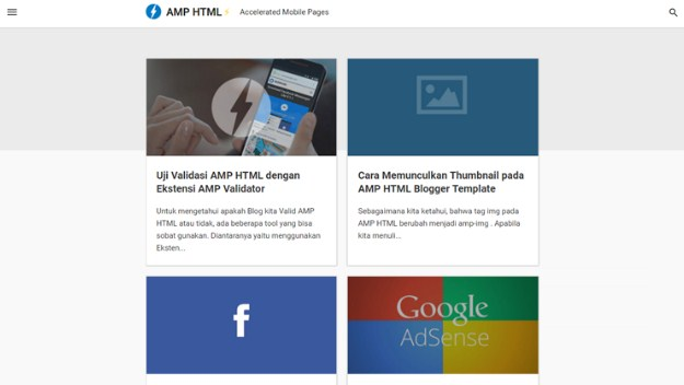 Amp Blogger Template Blog Kang Ismet