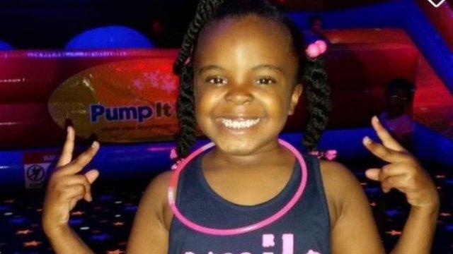 Girl, 8, shot dead after car crash
