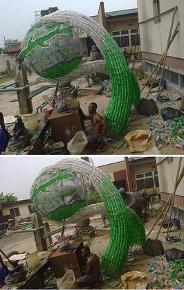 Brilliant! Check Out What This Yabatech Student Made For His Final Year Project