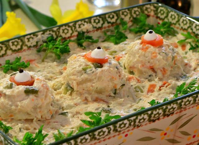 Salata-sa-pilećim-mesom-i-povrćem