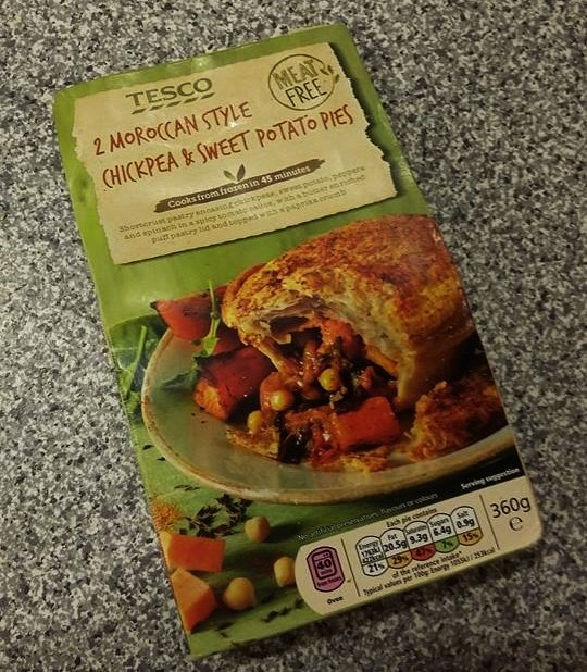 Foodie Eats Review Tesco Chickpea And Sweet Potato Pies
