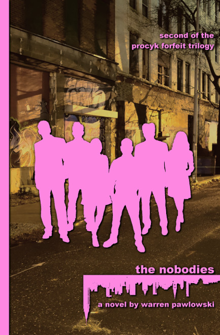The Nobodies First Edition Print Cover