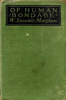 cover of Of Human Bondage, W. Somerset Maugham first edition 1915