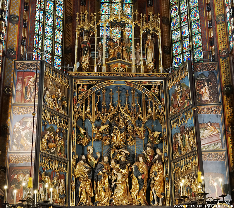 St. Mary's Basilica in Krakow