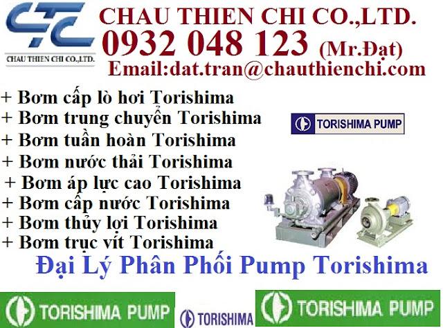 Bơm Torishima - Nhà phân phối Pump Torishima