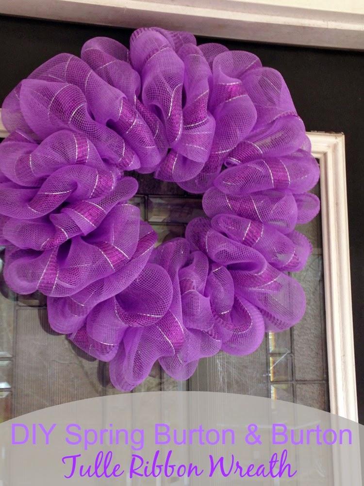 Tulle Ribbon Wreath