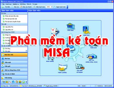 học phần mềm kế toán misa