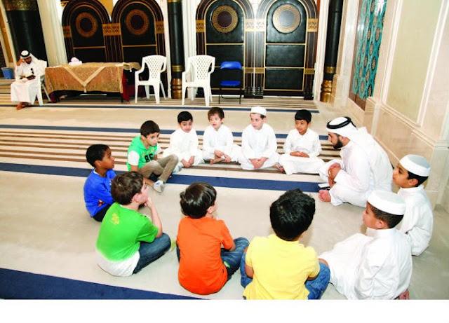 صيام الأطفال وفرحة شهر رمضان المبارك