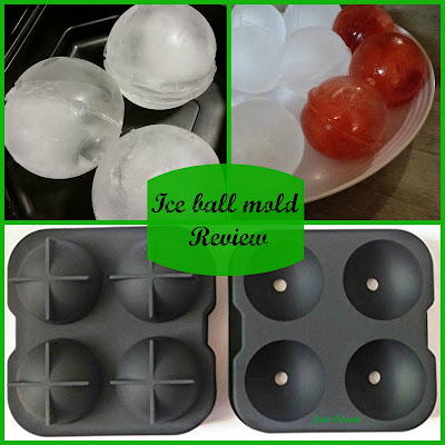 silicone ice ball mold review